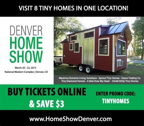 eight tiny houses on display at denver home show