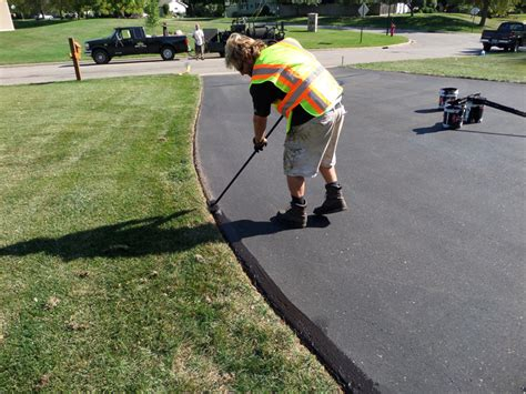 Driveway And Patio Company Residential Asphalt Seal Coating Minnesota Professional