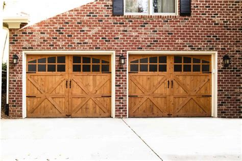wood garage doors rustic garage by wayne dalton