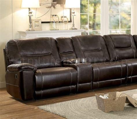 columbus motion sectional sofa 8490 8lrrr by homelegance