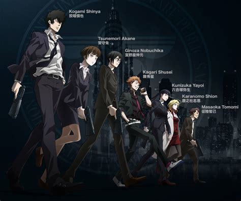 The Psycho From Heroes by Psycho Pass Review Ambiguous Morality And A Twisted