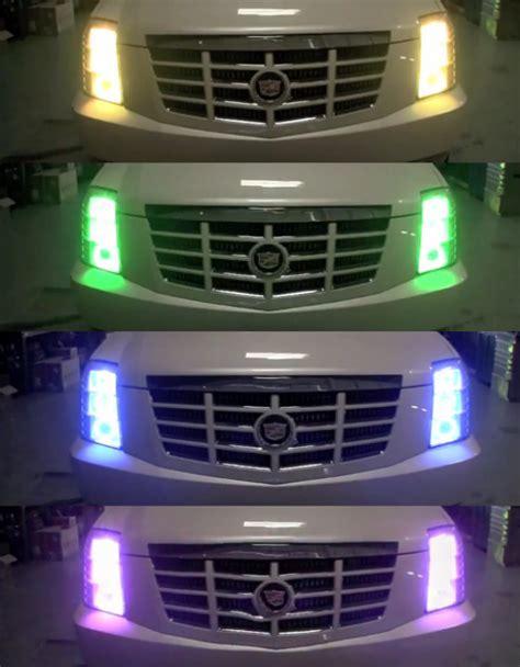 color changing led headlights rainbow brites color changing headlights geekologie