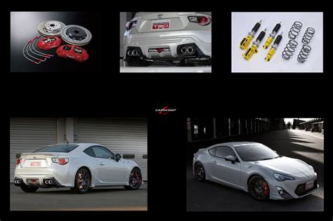 Toyota Aftermarket Parts Trd Aftermarket Parts For Upcoming Toyota 86 Car Tuning