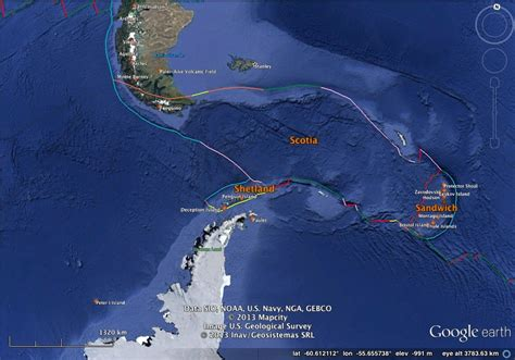 south america map passage want plates highly allochthonous