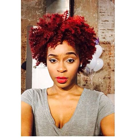 natural hairstyles with color red colored natural hair red natural hair pinterest