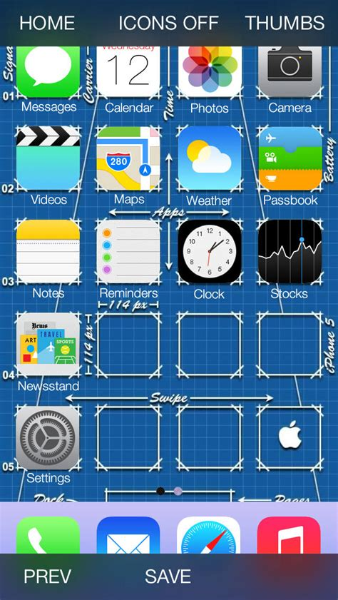 app icon backgrounds home screen wallpapers  ios