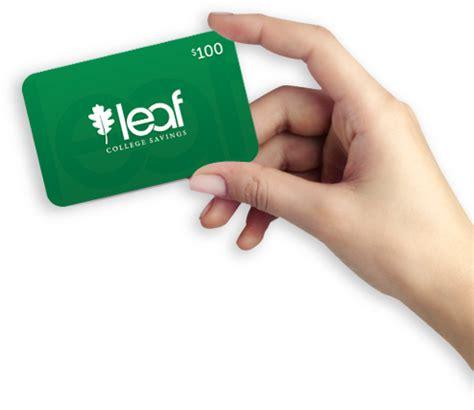 College Savings Gift Card - college savings plan 529 plan baby gift ideas leaf college savings