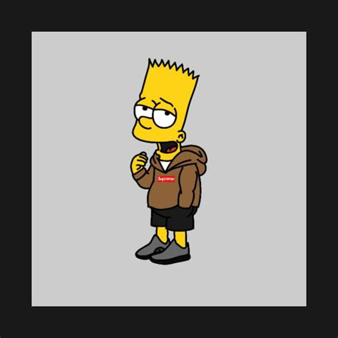 T Shirt Supreme Bart Simpsons Premium supreme t shirt teepublic