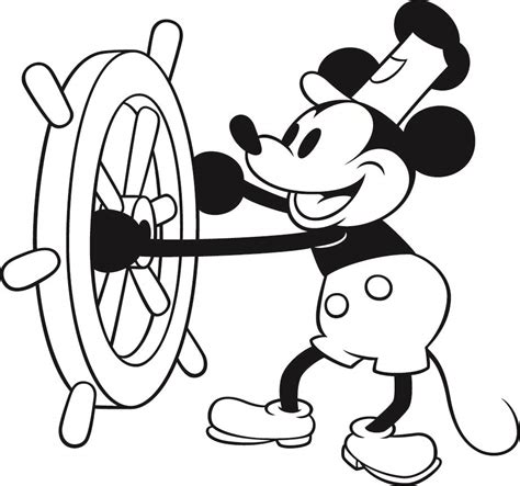 mickey mouse pants coloring page clipart mickey mouse page clipart collection mickey
