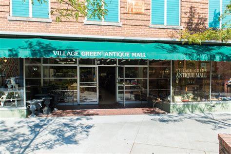 village green antique mall downtown hendersonville