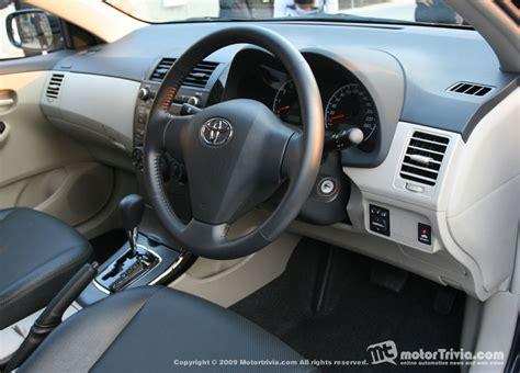 Toyota Corolla Altis 2013 Interior Toyota Corolla Altis Trd Sportivo สปอร ตส ดล ำ แรงท กองศา