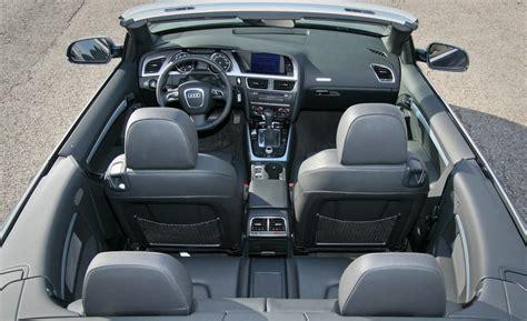 audi convertible interior 2010 audi a5 interior image 186