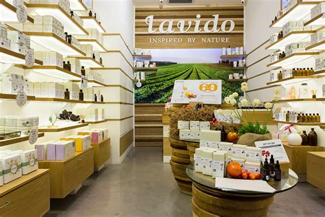 Lavido Natural Cosmetics Store Interior Design Galia Design Industrial design based in Los