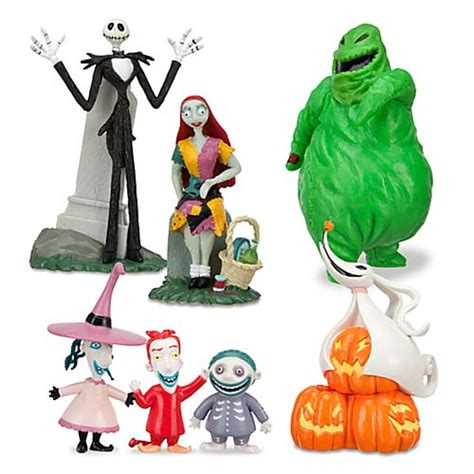your wdw store disney figurine set nightmare before