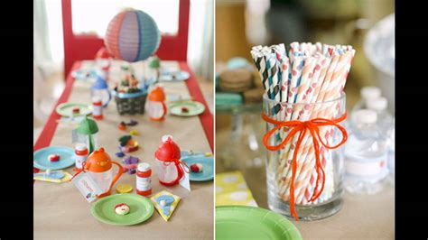 birthday decoration ideas at home for boy boys birthday party decorations at home ideas youtube