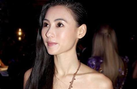 hong kong actress give birth cecilia cheung refutes pregnancy rumors cecilia cheung
