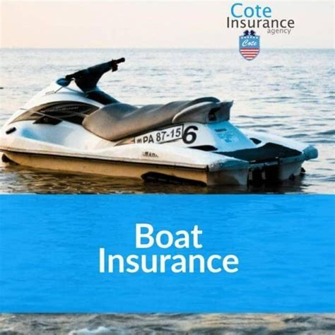 just boat insurance boat insurance cote insurance agency