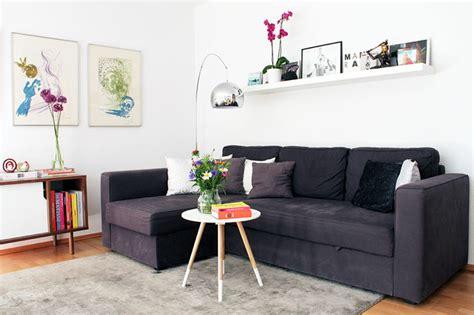 kleine wohnzimmer layouts kleines apartment mit skandinavischem interieur neues