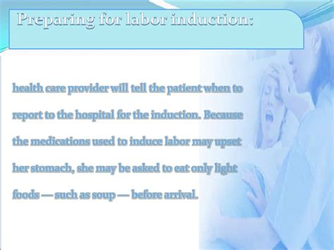 does induction lead to c section induction of labor
