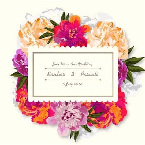 Wedding Invitation Card With Name by Create Your Own Wedding Invitations For Free