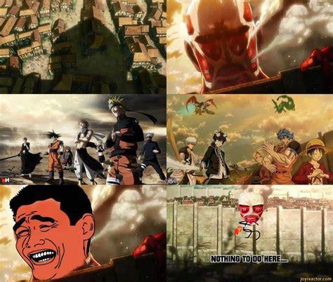 Funny Attack On Titan Memes - attack on titan funny meme