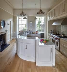 cuisine cuisine avec ilot central table avec blanc