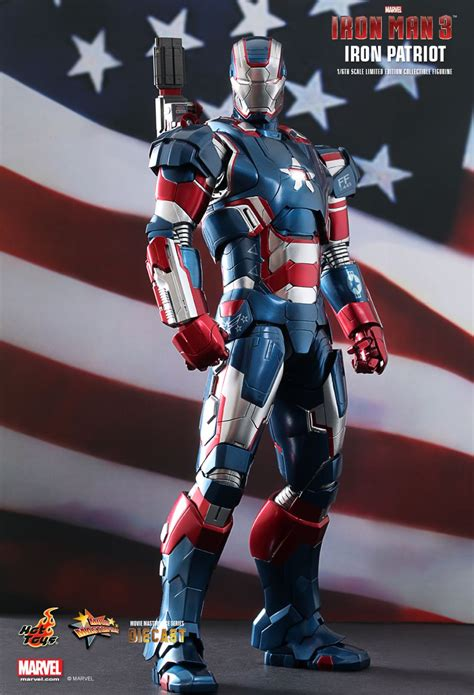 Ironman Patriot Tideway toys iron 3 iron patriot 1 6th scale limited edition collectible figurine saturday