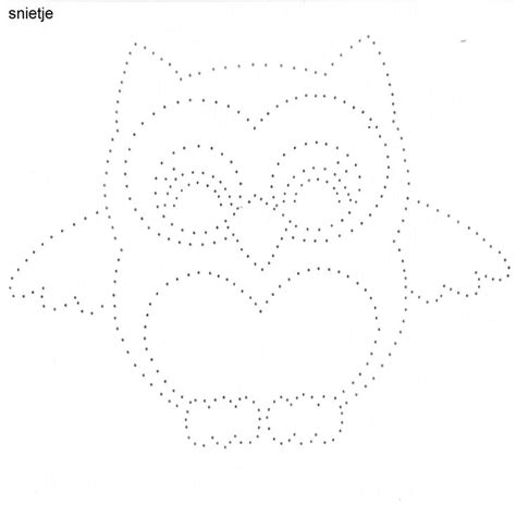 Owl String Template - 722 best borduren op kaarten images on