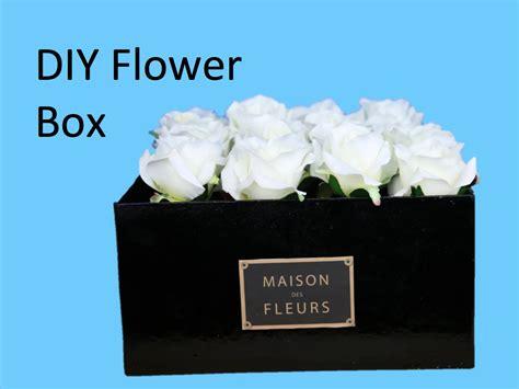 Diy Flower Vases Diy Flower Box Make Your Own Maison Des Fleurs Box