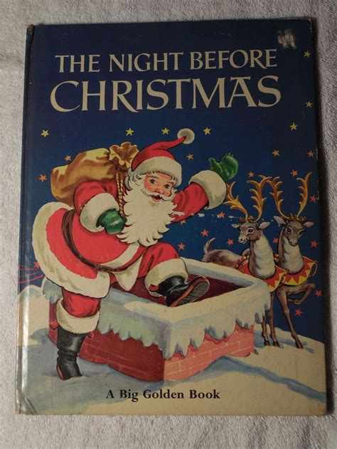 the night before christmas 1406358894 big golden book 1969 the night before christmas clement c moore malvern night before