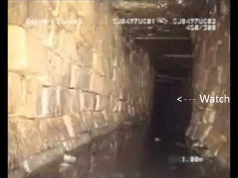aliens captured  cameras underground  video sewer