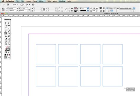 indesign creating a grid quick tip creating quick grids and using live distribute