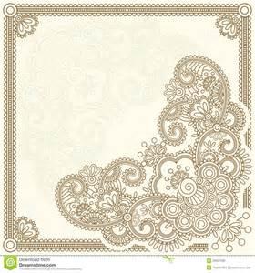 mehndi flower royalty free stock image image 20627596