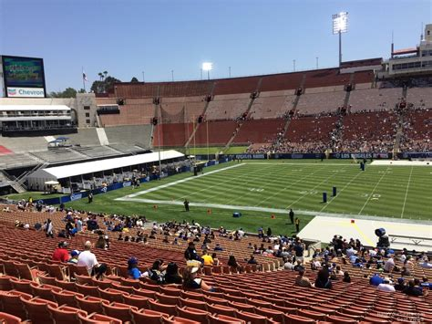 What Is Section 23 by Los Angeles Memorial Coliseum Section 23 Rateyourseats