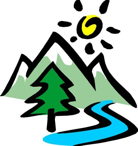 clipart montagna ecologia