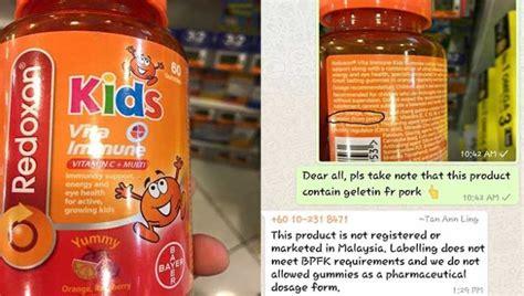 Vitamin C Untuk Anak hati hati vitamin c untuk anak ini mengandung gelatin babi