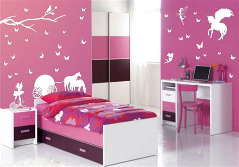 Bedroom Decorating Ideas Cheap teens bedroom girl ideas painting love wall decals pink
