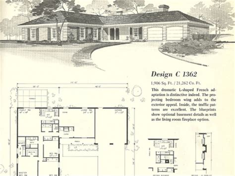 1970s house plans vintage 1970s split level house plans