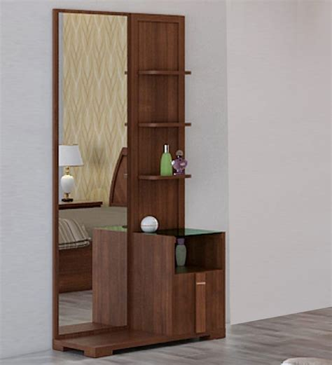 Hometown Kitchen Designs by Buy Kosmo Grace Dressing Table In Rigato Walnut Finish By