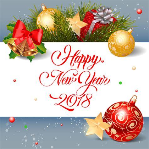 year greeting card  christmas decor vector