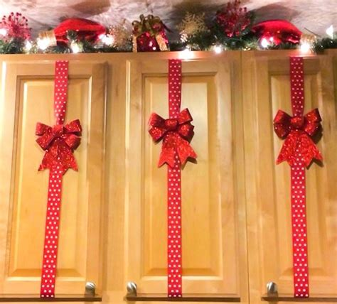 top of kitchen cabinet christmas decorating ideas 60 of the best diy christmas decorations kitchen fun