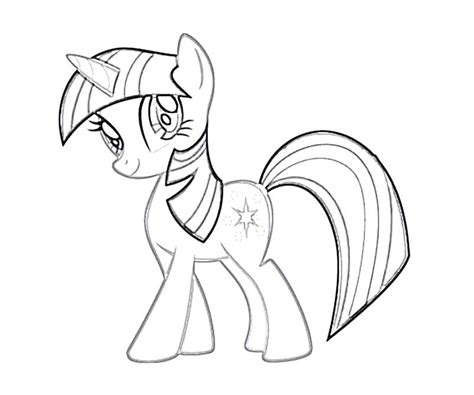 My Little Pony Twilight Sparkle Coloring Pages My Pony Coloring Pages Princess Twilight Sparkle Printable