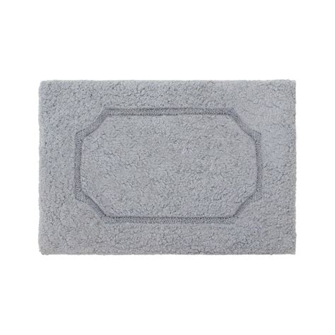 17 X 24 Bath Rug Blossom Gray 17 In X 24 In Premium Plush Race Track Bath Rug Ymb006264 The Home Depot