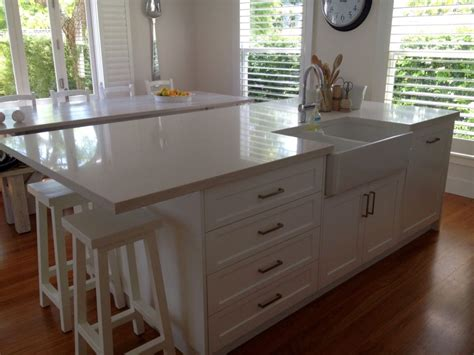 20 elegant designs of kitchen island with sink