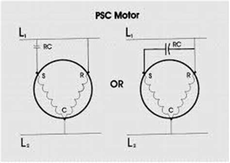 what s the difference between a psc and ecm motors and