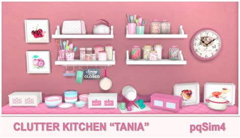 sims 4 cc clutter tania kitchen clutter sims 4 custom content