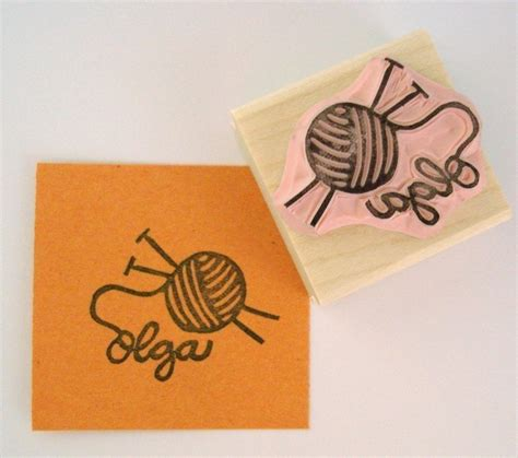 personalized rubber sts for crafters 1000 images about st crafts on