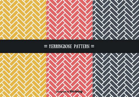 herringbone pattern illustrator stylish herringbone patterns vector download free vector