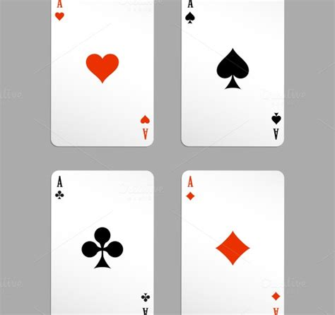 Ace Cards Template by Card Box Template 187 Designtube Creative Design
