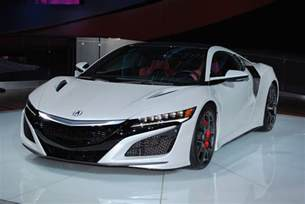 Acura Nsx Specifications Detroit 2016 Acura Nsx Gtspirit